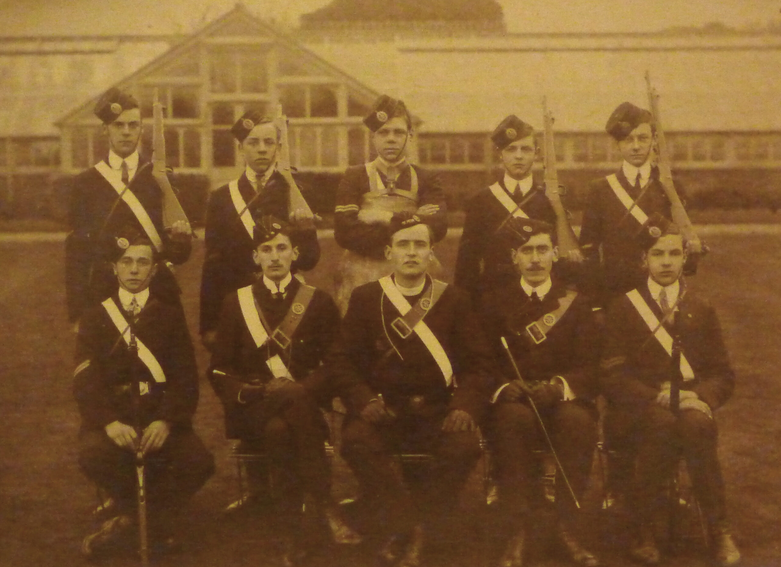 St Peter's in Thanet Company Church Lads Brigade 1909